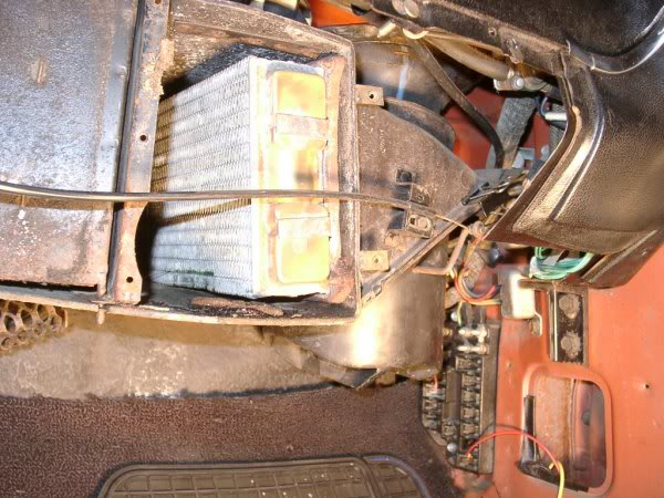 Heater Core Removal With Photos Vintage Thunderbird