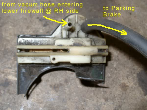 Parking Brake Vacuum Release Switch Vintage Thunderbird