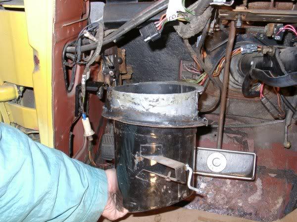 Parking Brake Vacuum Release Switch - Vintage Thunderbird