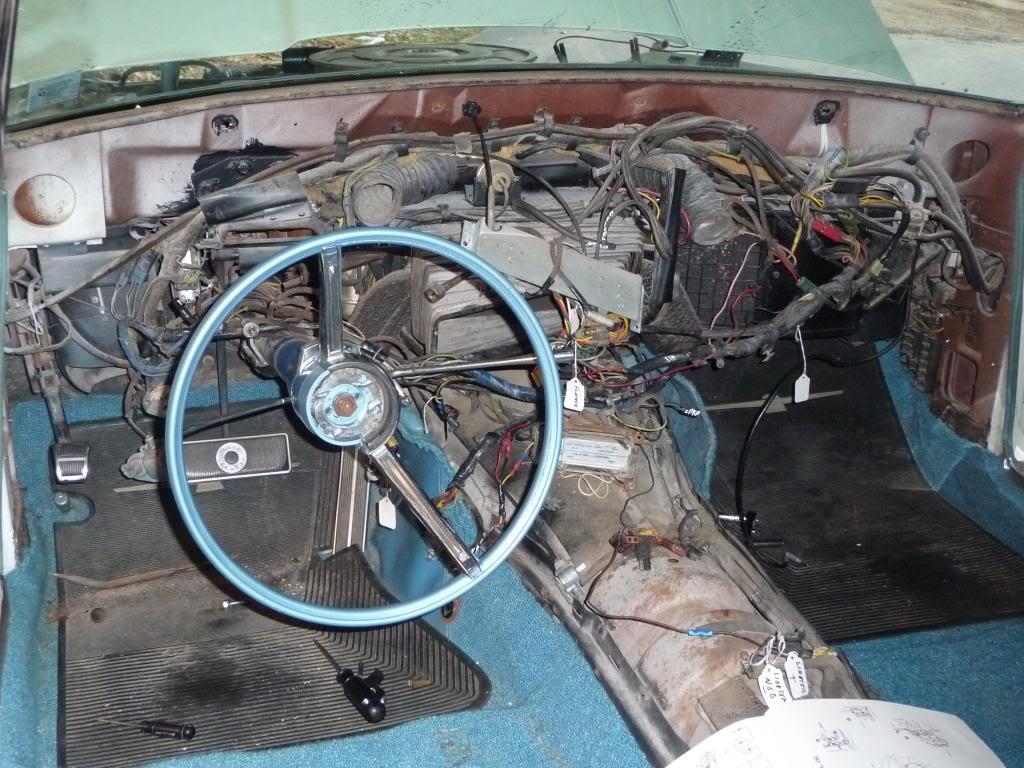 1965 Thunderbird Dash Removal