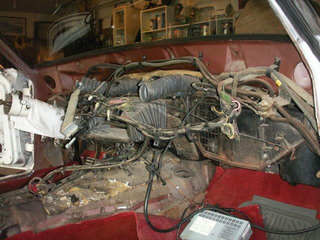 1965 Thunderbird Dash Removal Vintage Thunderbird Club