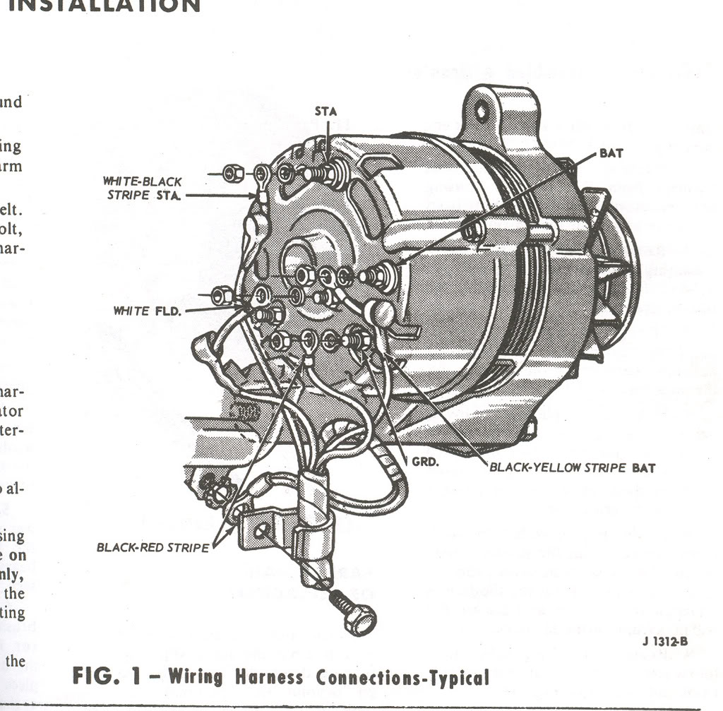 1965 Thunderbird Alternator Wiring Manual Guide Diagram 1970 Ford Mustang How Is The 1966 Wired Up Vintage Club Rh Vintagethunderbirdclub Net Plymouth