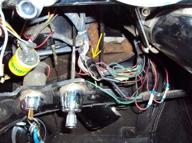 instrument panel fuse vintage thunderbird club international 1955 t bird wiring diagram 1955 55